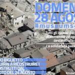 #Museums4Italy: il 28/08 l'incasso dei musei va in beneficenza